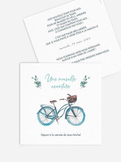 invitation depart a la retraite