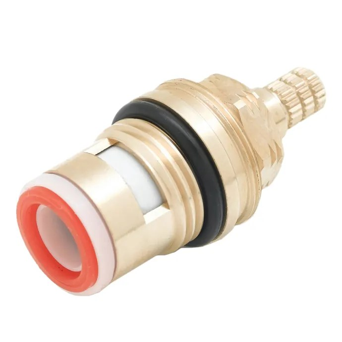 t s 013787 45 ceramic cartridge assembly for hot right to close faucet handle