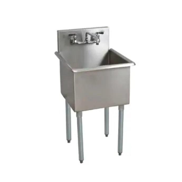splash cs 1 24 24 14 bs8 27 1 compartment sink w 24 l x 24 w bowl 14 deep