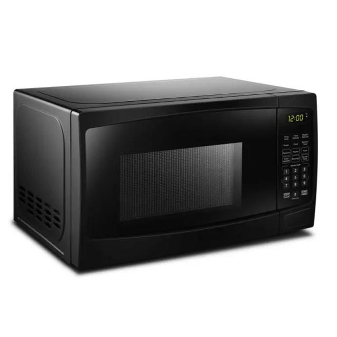 danby dbmw0920bbb 0 9 cu ft microwave w 10 power levels 900 watts black