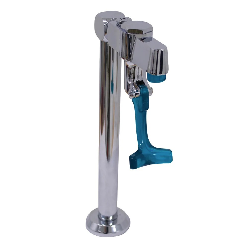 advance tabco k 54 water filler faucet deck mount for drop in and table mount sinks