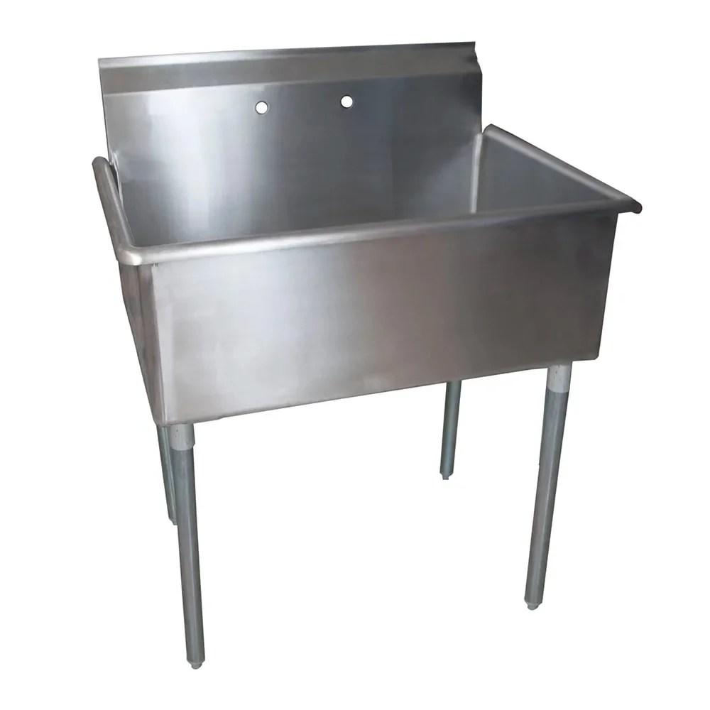 splash us 36 24 14 39 1 compartment sink w 36 l x 24 w bowl 14 deep