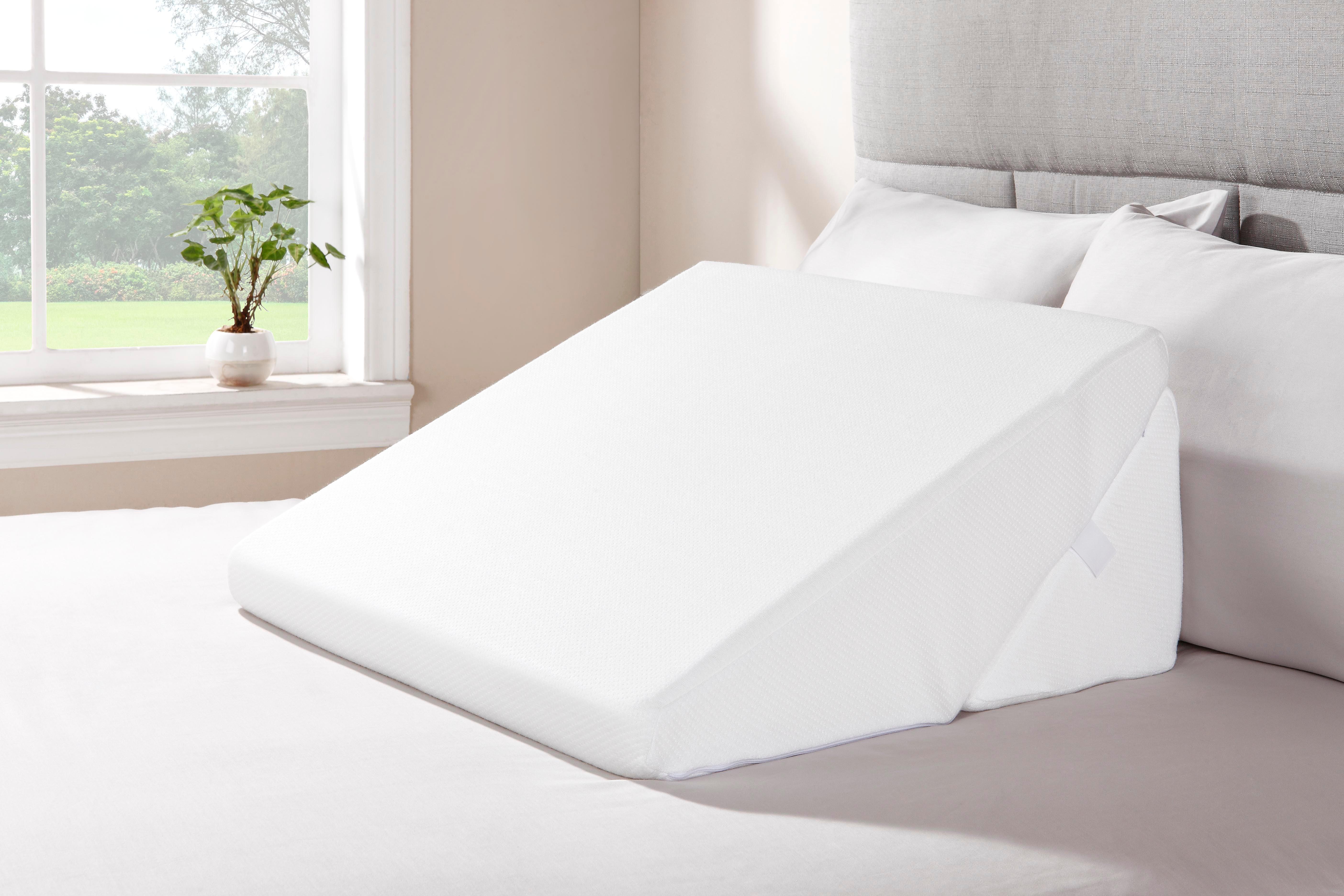 ovela memory foam bed wedge pillow set