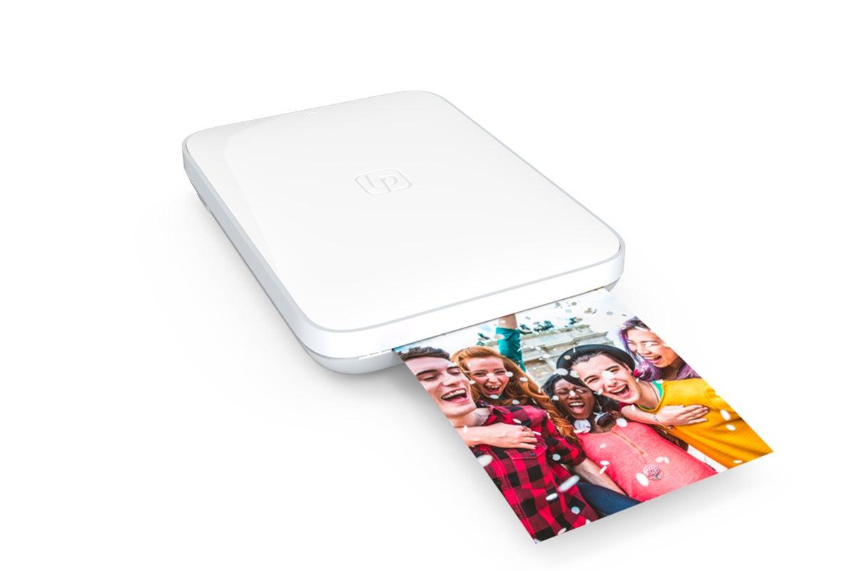 Dick Smith | Lifeprint 3 x 4.5 Portable Photo & Video Printer - White (90024845) | Printers