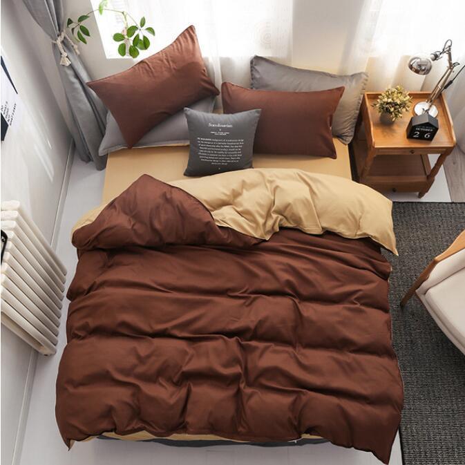 3d dark brown light brown 2134 quilt cover set bedding set pillowcases 3d duvet cover