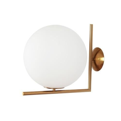 brass flos ic wall mounted lamp replica ceiling light small