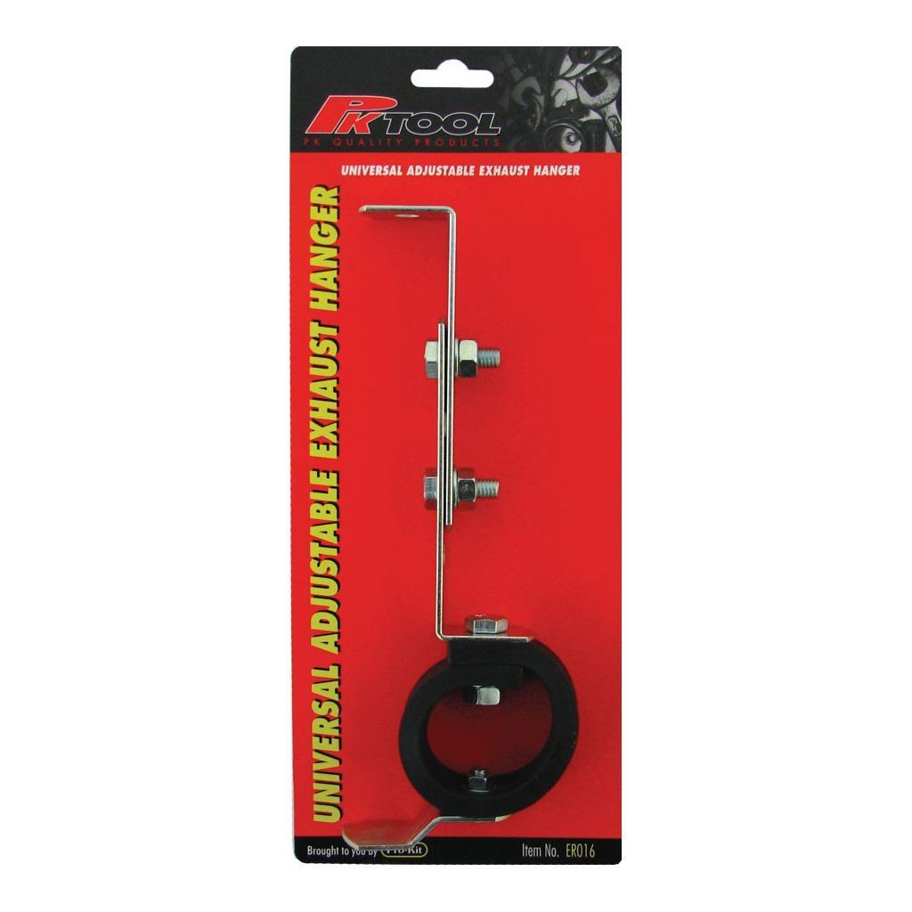 exhaust hanger adjustable universal fit gal finish