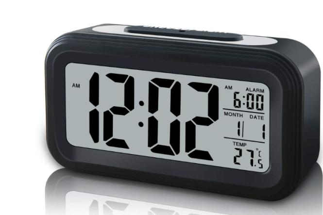 Cordless Digital Alarm Clock