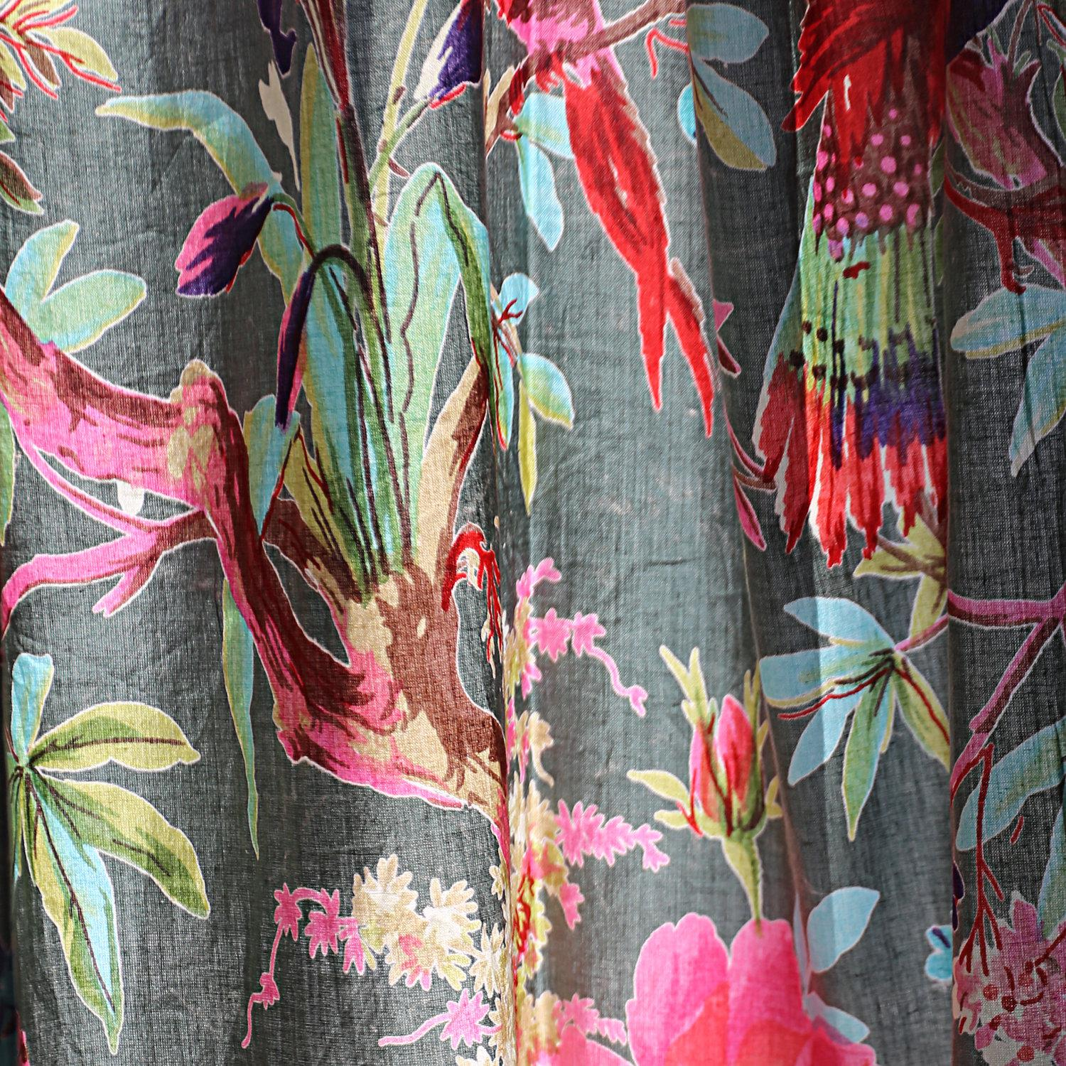 frida kahlo boho curtains eclectic curtains frida curtains boho decor boho curtain panels boho home decor two panels christmas gift