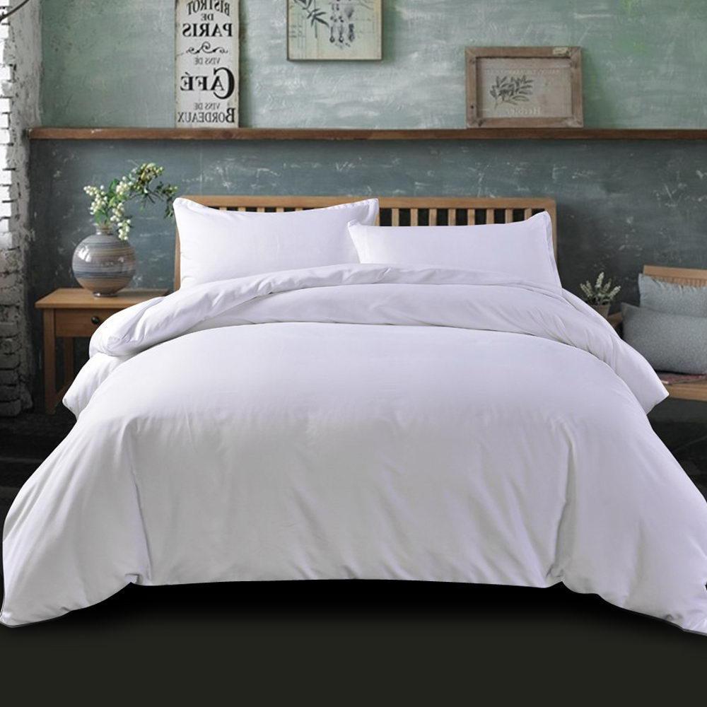 giselle bedding king quilt cover set white luxury classic premium microfibre doona duvet bed sets hotel