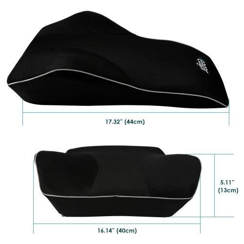 car seat cushion memory foam lumbar support pillow breathable ergonomic for back lumbar pain relief feagar office chair wheelchair and car seat