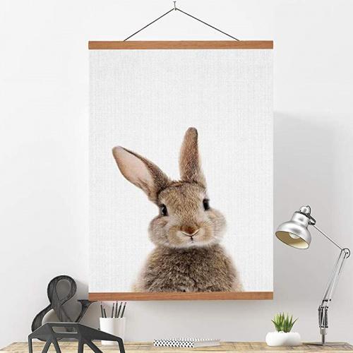 90cm teak wood ywlake magnetic poster hanger 35x 23 35x 14 35 x 47 poster frame wood wooden magnet print posters dowel scroll hanger hangers