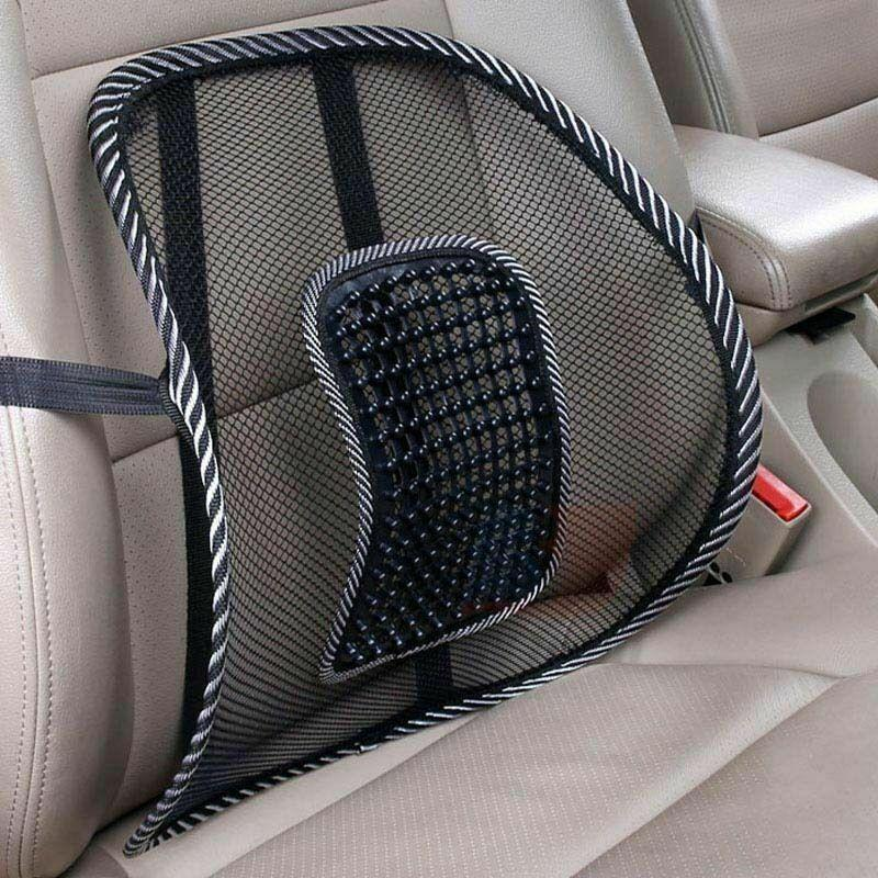 memory foam lumbar back pillow support back cushion home office car seat chair mesh support cushion