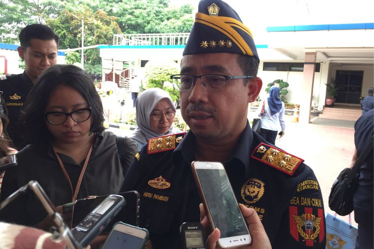 Direktur Jenderal Bea dan Cukai Kementerian Keuangan, Heru Pambudi