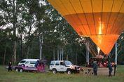 Begini Rasanya Melihat Matahari Terbit dari Balon Udara