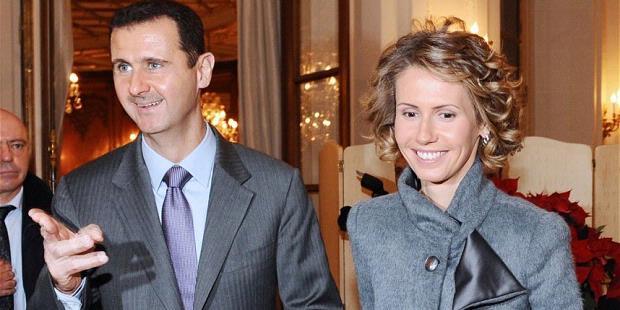 Asma Assad dan Suaminya, Bashar al-Assad