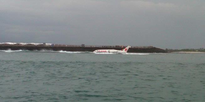 Sebelum Mendarat, Lion Air Terobos Awan Hitam