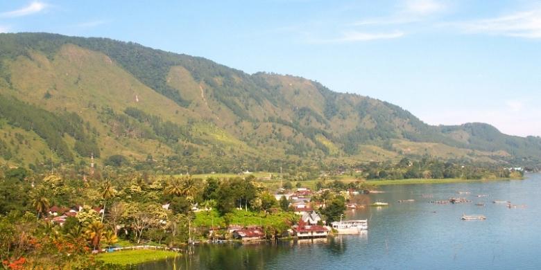 Danau Toba dan Pulau Samosir.