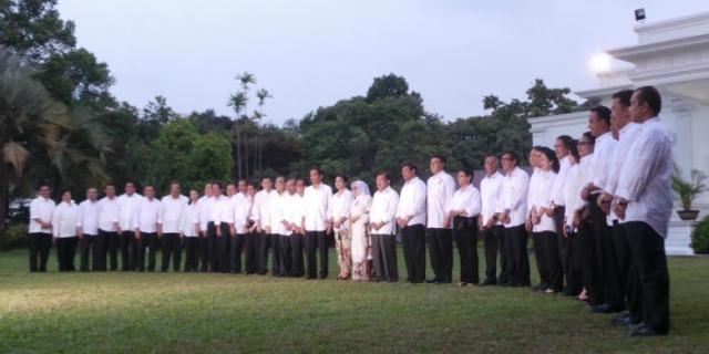 Kabinet Jokowi JK by Kompas