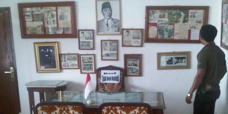 Image result for Rumah Pengasingan Soekarno Pangkalpinang di Bukit Menumbing
