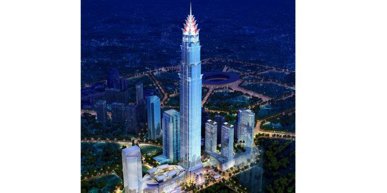 7 Mega Konstruksi Pembangunan dan Ikon Indonesia di Panggung Dunia