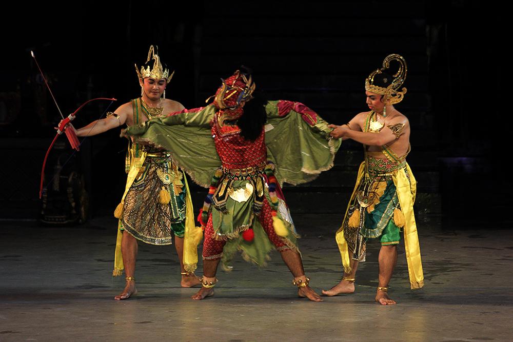 Jatayu, Rama, dan Laksmana