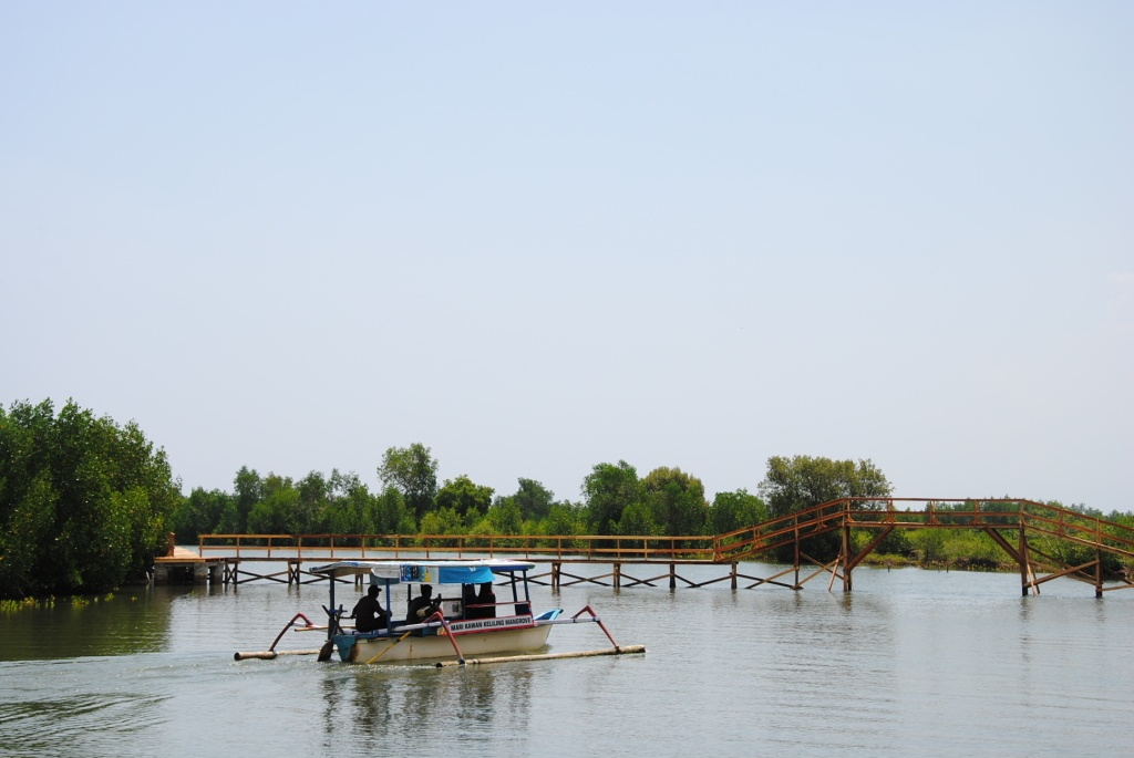 Eko-wisata di Lembar Selatan, Lombar (foto: Kamaruddin Azis)