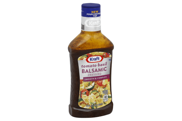 KRAFT Balsamic Vinaigrette w Tomato and Basil Dressing 16