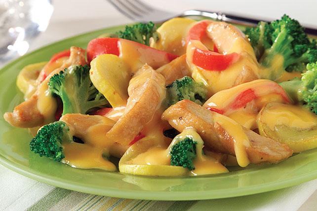 Resultado de imagen para Pollo cremoso y verduras con fideos
