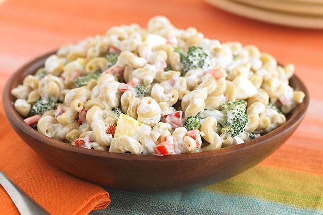 Red Pepper and Broccoli Macaroni Salad Image 1