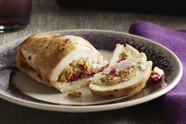 Cranberry Stuffed Chicken Breasts Recipe Kraft Canada
