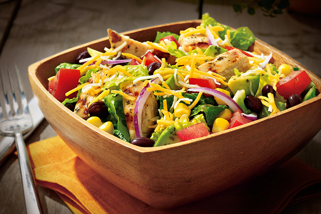 Grilled Chicken Chopped Salad Image 1
