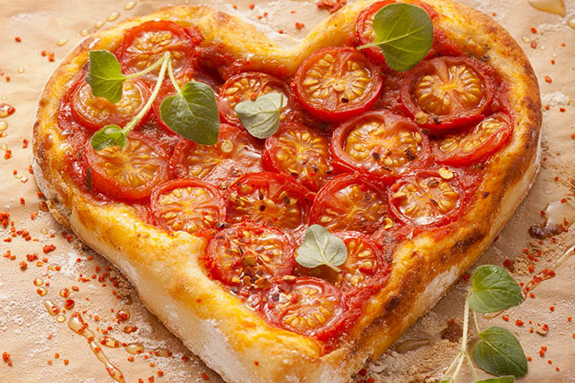 Image result for cheese pizza heart