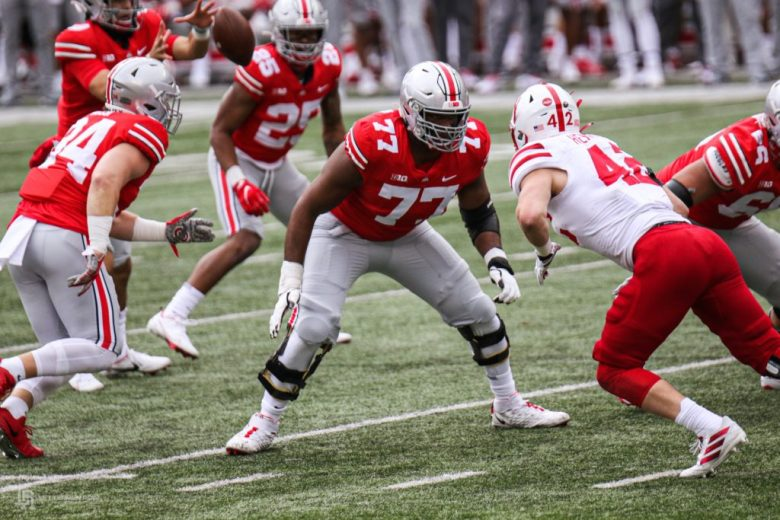 Paris Johnson hype train full-speed ahead after first real stop at Ohio  State