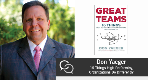 Don Yaegar on Great Teams