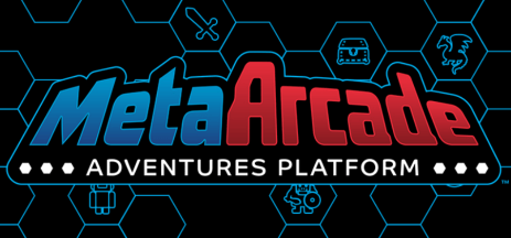 MetaArcade logo across a hex grid