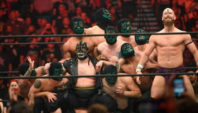 The Work Of Wrestling: AEW Can Do Better Than The Dark Order