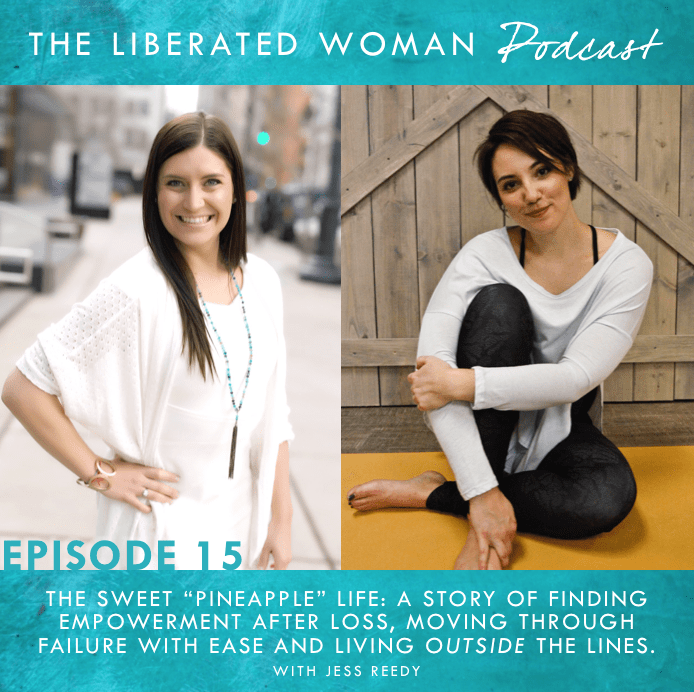 THE LIBERATED WOMAN PODCAST WITH AMBER CHALUS AND JESS REEDY