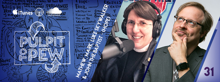 Pulpit To Pew - Ep.31 - Star Wars - Rev. Beverly Gibson - Johnny Gwin - 3rd Sunday of Advent