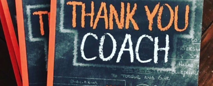 Thank You Coach
