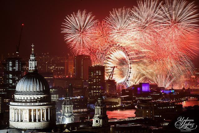 Hello 2014 London New Year Fireworks Londonist