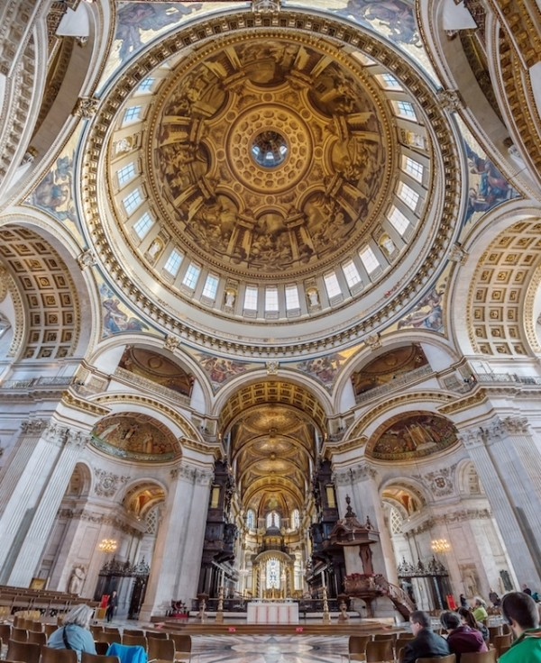 Photograph Inside St Paul's, And Win A Tour Of The Secret ...