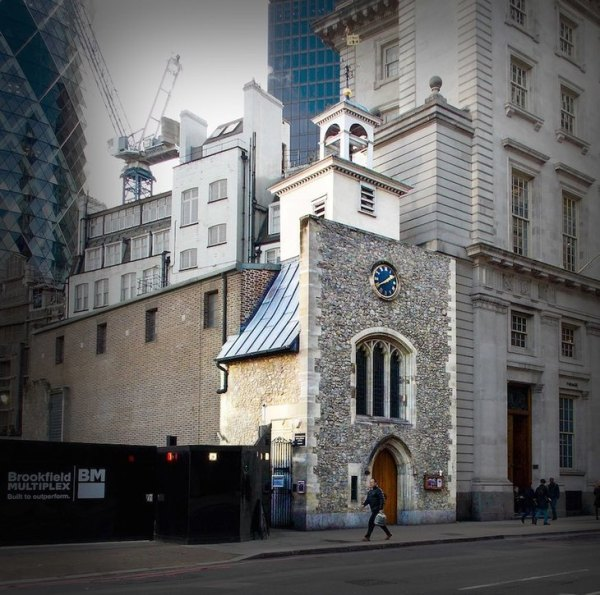 Why Is There A Bedouin Tent In Bishopsgate? | Londonist