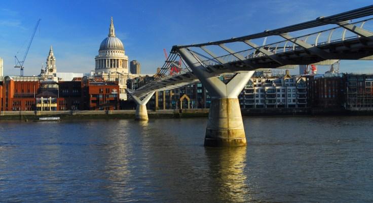 Image result for london millenium bridge