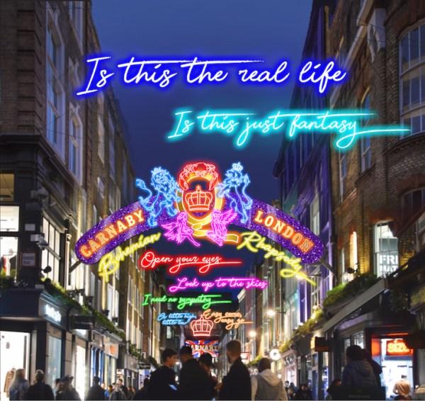 christmas lights london # 7