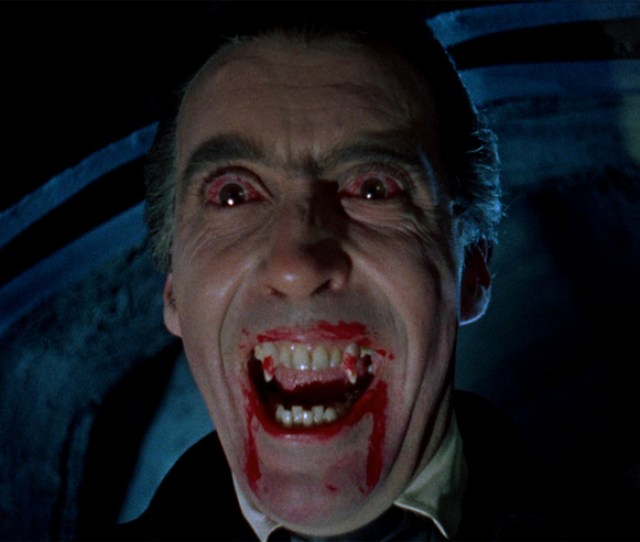 Christopher Lee Appears As Dracula In The Eponymous Film Form 1958