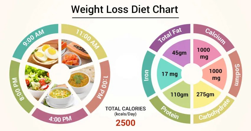 Diet Chart For Weight Loss Patient Weight Loss Diet Chart Lybrate