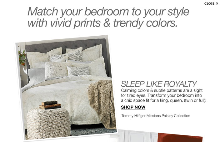 Tommy Hilfiger Bedding & Bath Collections