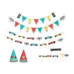 Vintage Race Car Birthday Party Decoration Kit Home Decor Party Goods Maisonette