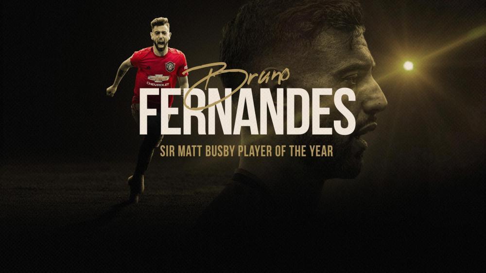 Fernandes wins Man Utd Sir Matt Busby Player of the Year award for 2019/20  | Manchester United
